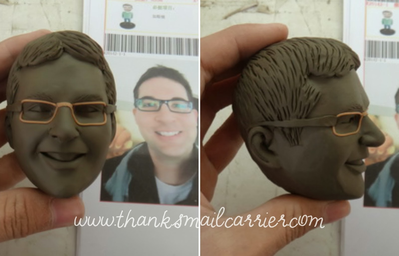 bobblehead clay