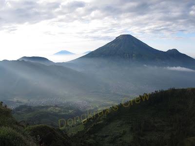 Puncak Gunung Sikunir, Sikunir, Dieng
