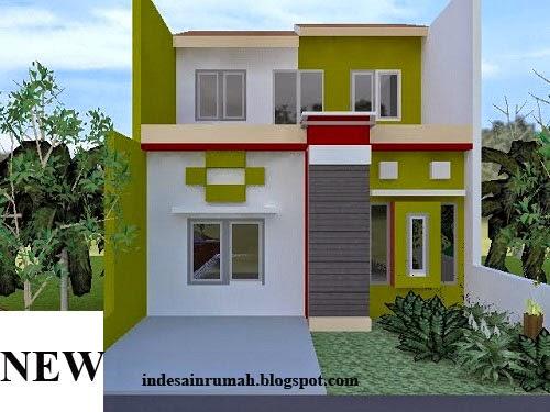 Bentuk Rumah Minimalis Sederhana 3 Kamar Lantai 2