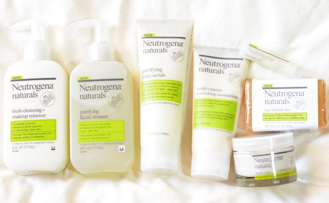 Neutrogena Naturals Collection « Tineey