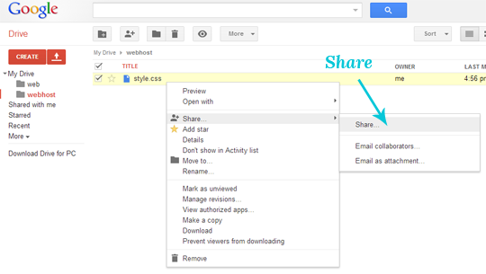 google drive how to copy a folder within a shared