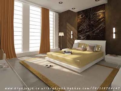 Desain Interior Kamar Tidur Utama 02
