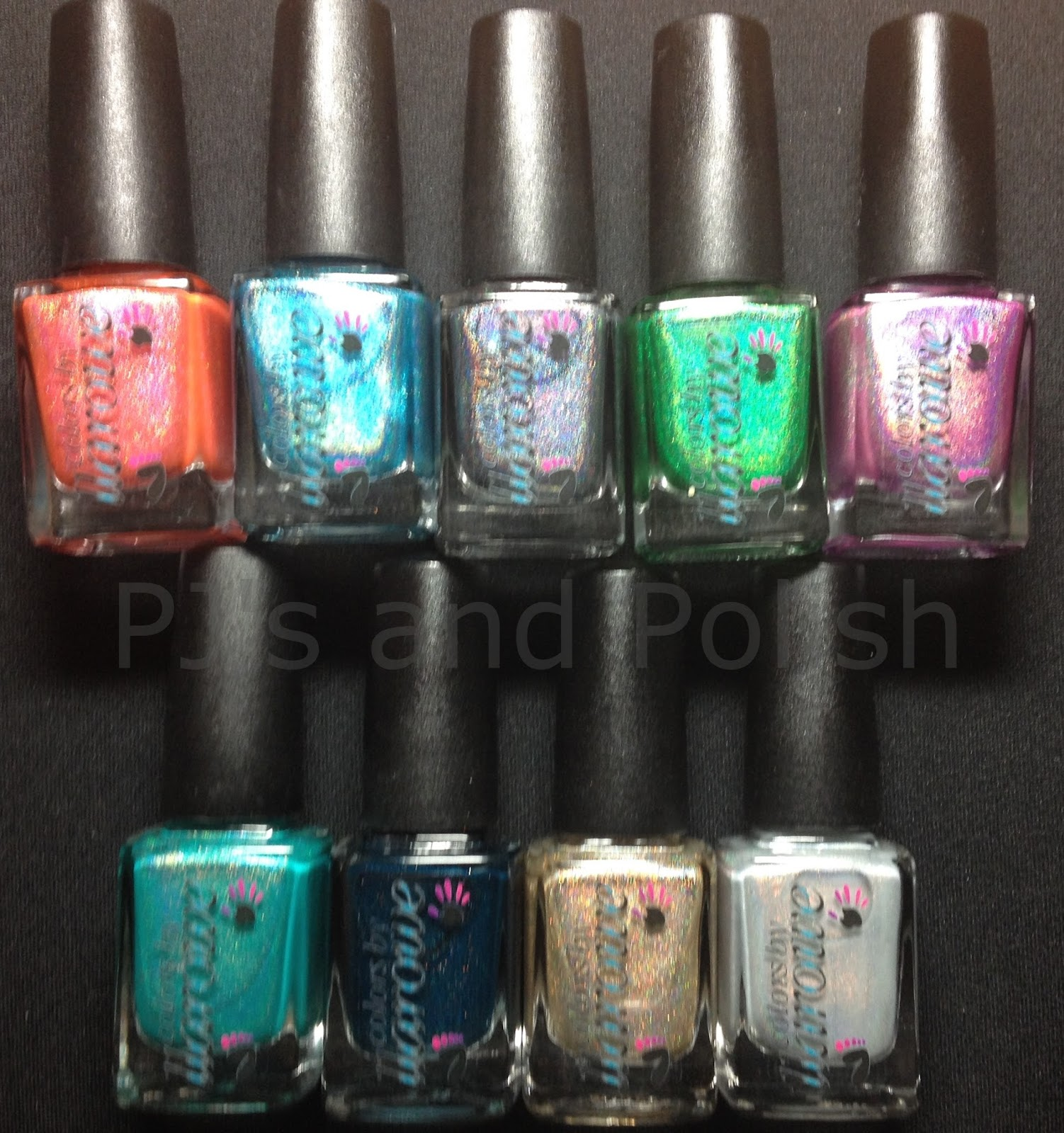 Colors by Llarowe (CbL) Summer 2014 Holo/Holo Glitters Anna's Adventure Chillin' In Paradise Final Fantasy Gemini Rising My Own Private Paradise Refresh...ing! Sweet Revenge The Golden Touch When Doves Cry