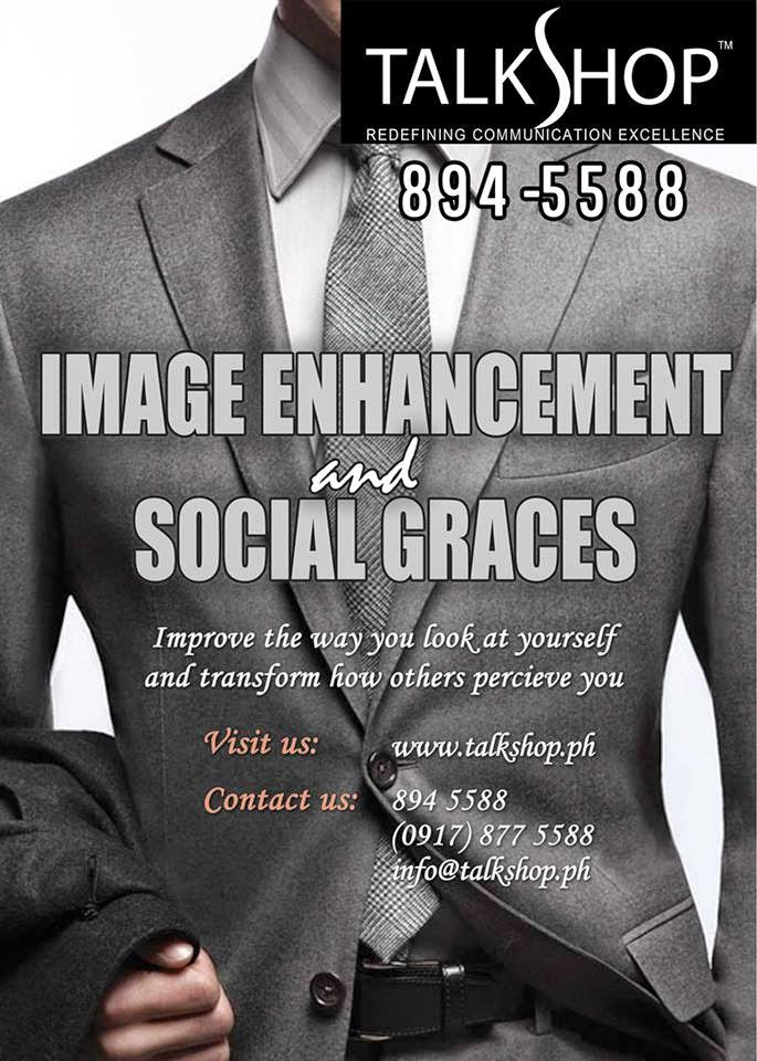 TalkShop Image Enhancement and Social Graces Training