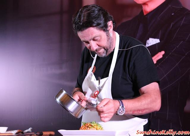 3-Michelin Star Chef Bruno Menard, Dinner with the MasterChef Asia Judges, Westin KL, MasterChef Asia judges, Chef Susur Lee, Chef Bruno Menard, Chef Audra Morrice