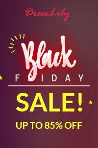 Dresslily Black Friday