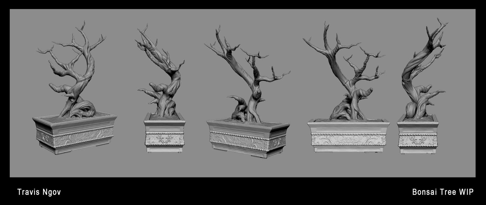 bonsai tree sculpt  u2014 polycount