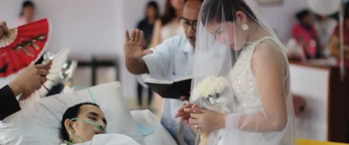 Pernikahan Sedih dan Romantis Penderita Kanker Ganas