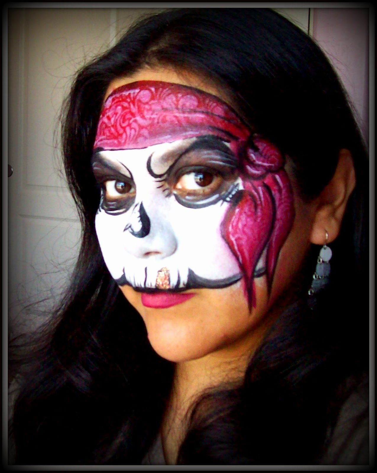 Face Painting: Pirate!! Step by Step. Face Painting