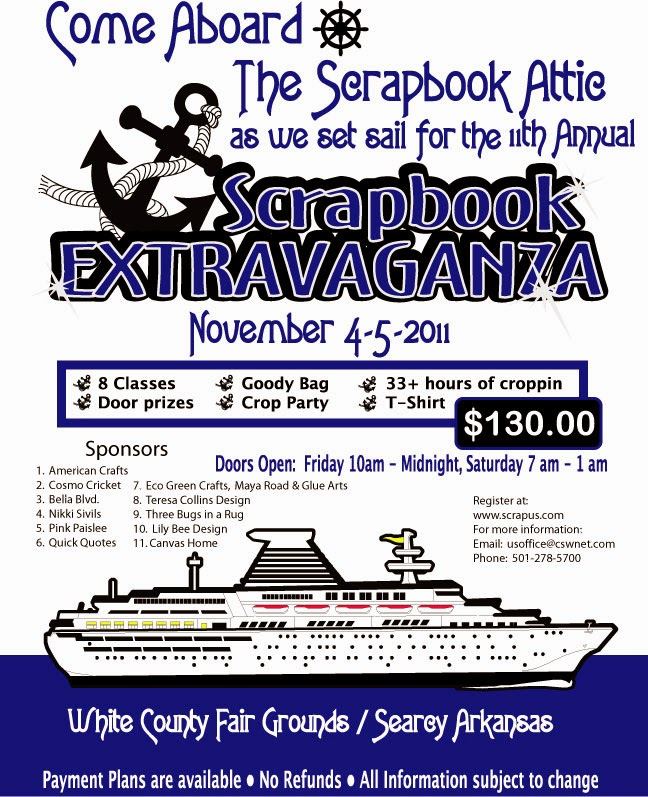 Flyer for 2011 Extravaganza