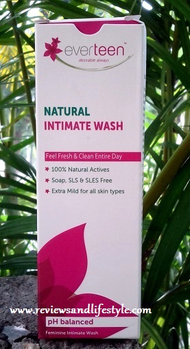 Everteen Natural feminine Intimate Wash