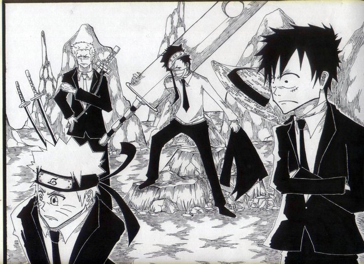 """Anime character/s of the day-Cast ng Naruto/One piece"""""""
