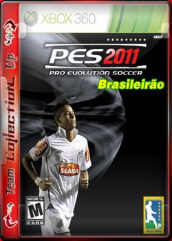 pes2011brasileiraox3cov Download Pes 11   Campeonato Brasileirão 2011 Série A e B com Rivaldo   Xbox 360