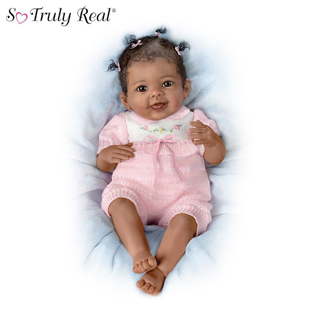 So Truly Real Interactive Baby Doll: Taylor's Ticklish Tootsies by Ashton Drake