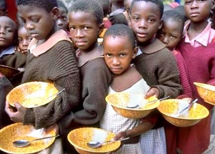 vegetarianismo para deter a fome no mundo