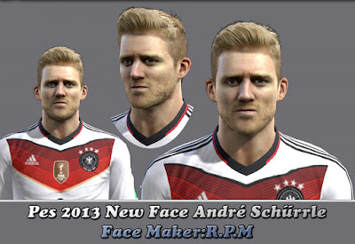 Pes 2013 New Face André Schürrle by R.P.M
