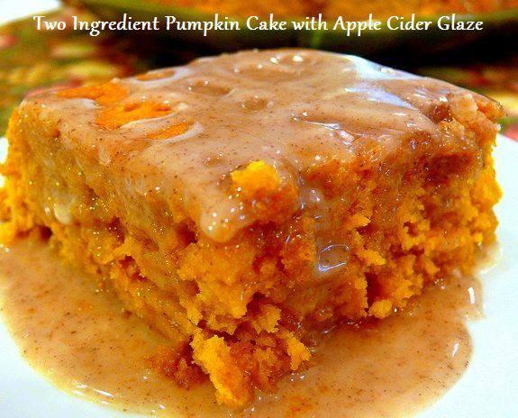 Pumpkin Dessert Recipes Using Yellow Cake Mix
