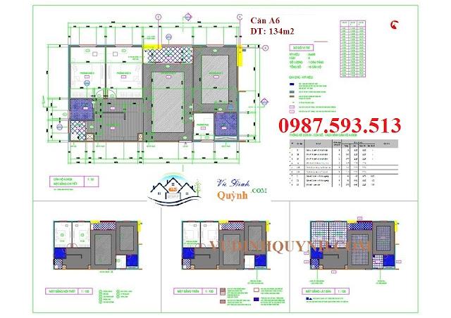Căn A6 dự án 122 Vĩnh Tuy