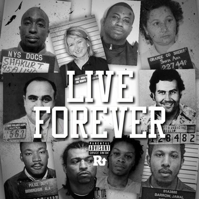 P. Reign - Live Forever