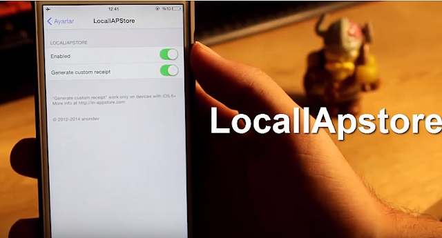 iPhone LocallApstore Para Hilesi Tweak