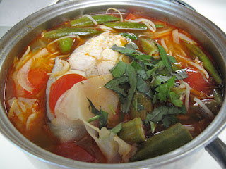 Sour soup (Canh chua)