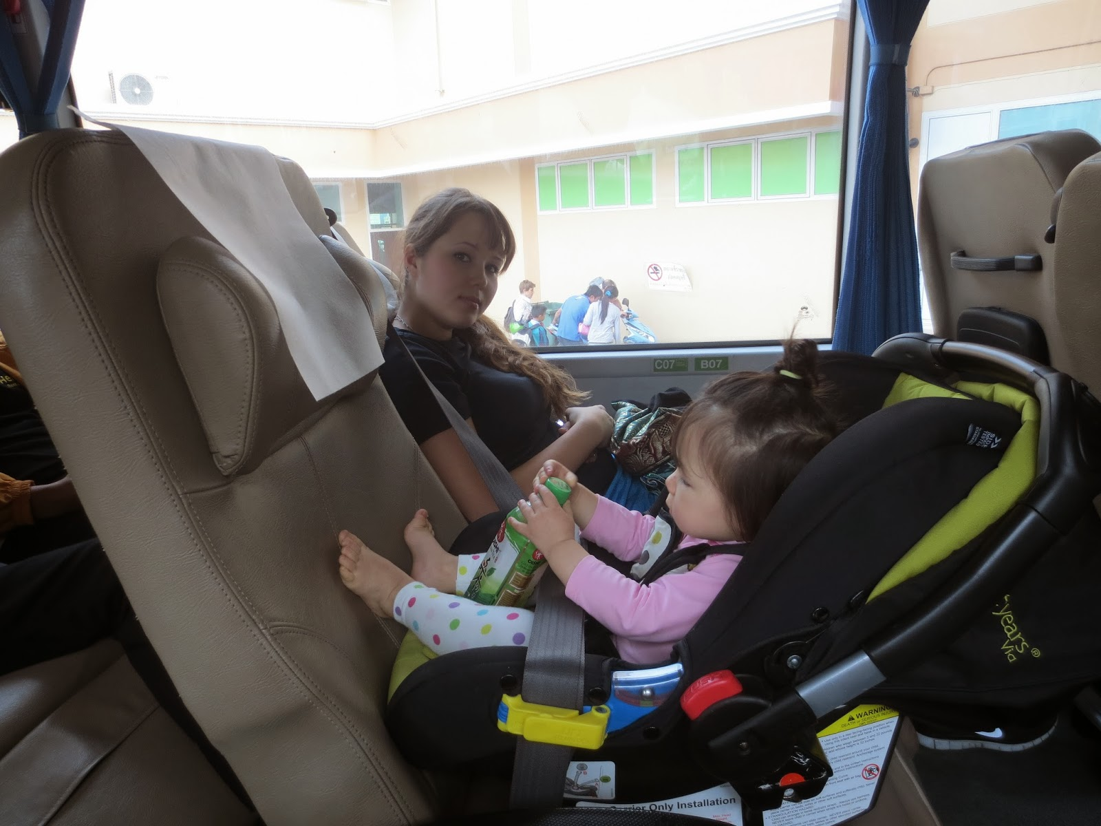 Car Seat On Airplane: Lap Child Diaries: Car Seat On The Plane
