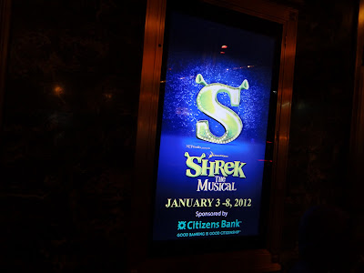 Shrek The Musical at the PPAC, Providence, Rhode Island!!