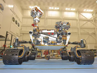 how does mars rover curiosity look like?