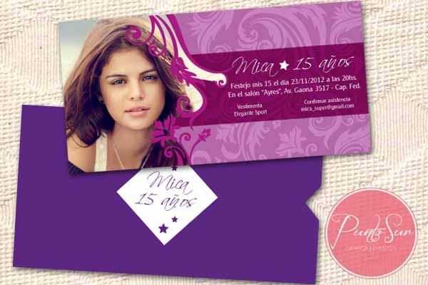 PuntoSur | Gráfica para Eventos: Invitaciones 15 años Modernas y ...