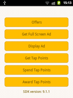 Android Ads: How to implement Tapjoy in android?