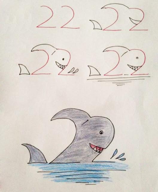 Πως να μάθετε στα παιδιά σας τους αριθμούς ζωγραφίζοντας. - www.pwsna.com
