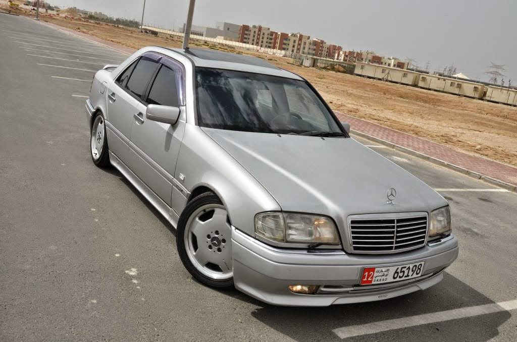 1995 mercedes benz w202 c36 amg benztuning. Black Bedroom Furniture Sets. Home Design Ideas