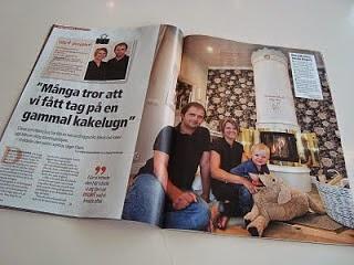 Reportage om oss i Aftonbladet Härligt hemma
