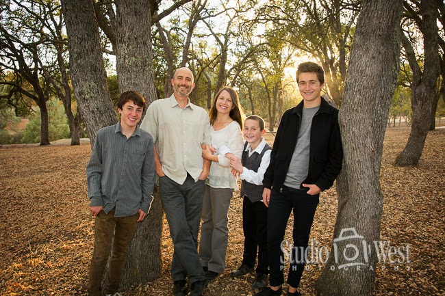 Atascadero Family Portrait - Reunion Family Portrait - Studio 101 West Photography