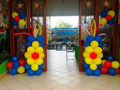 Dekorasi Ulang tahun Sederhana Dengan Balon Ulang Tahun