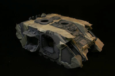 Enmascarado del Land Raider