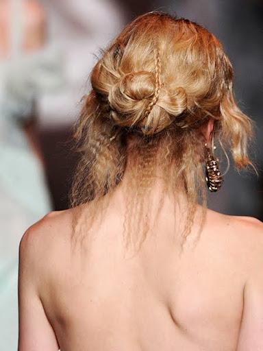 нисък кок Christian Dior есен-зима 2011-2012