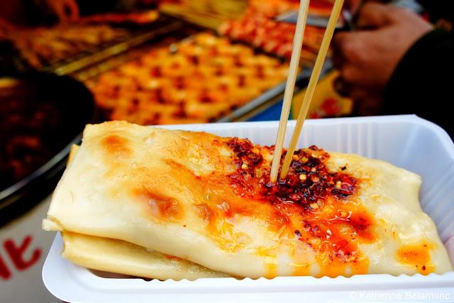 Chinese Burrito Wangfujing Snack Street