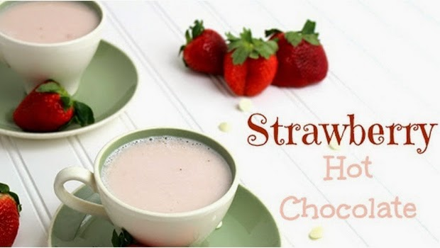 Cara Mudah Membuat Strawberry Hot Chocolate