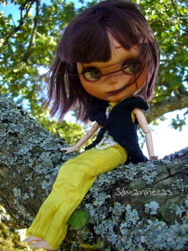 Basaak doll en el Santurario de oro Álava