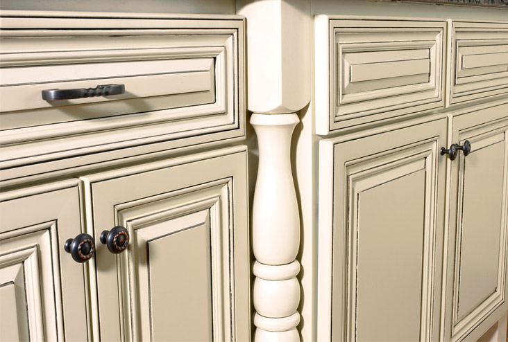 Rta cabinets on pinterest kitchen cabinets classic white kitchen and cabinets - How to glaze kitchen cabinets cream ...