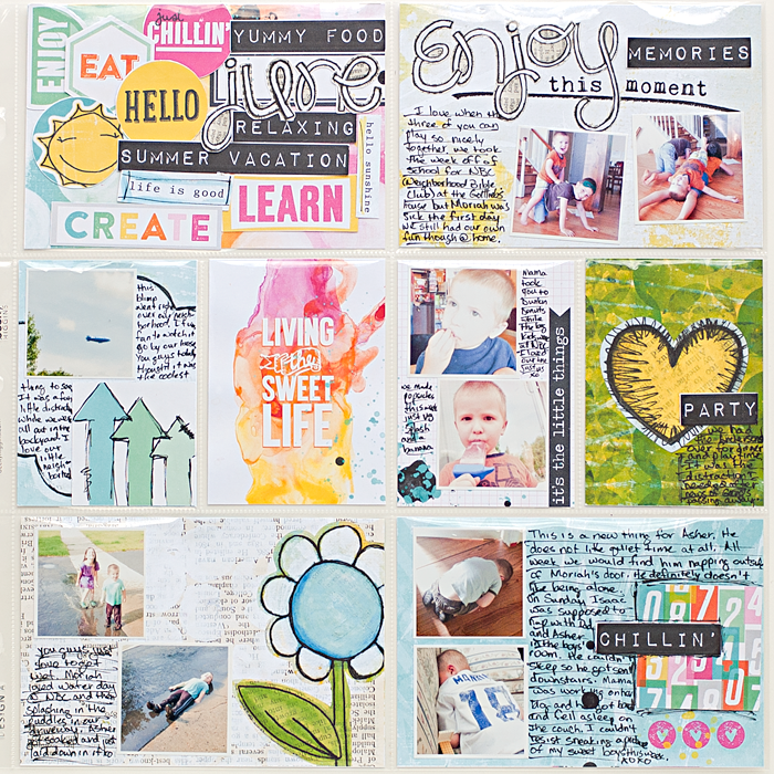 Heather Greenwood | June 2014 - Week 25 Project Life