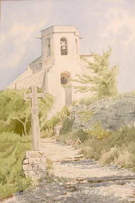 aqurelle-chapelle-oppède le vieux