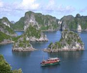 Cat Ba Spanning Island Vietnam