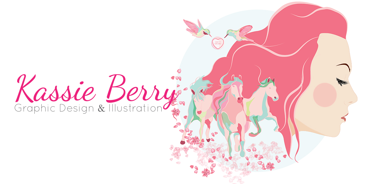 Kassie Berry Graphic Design & Illustration