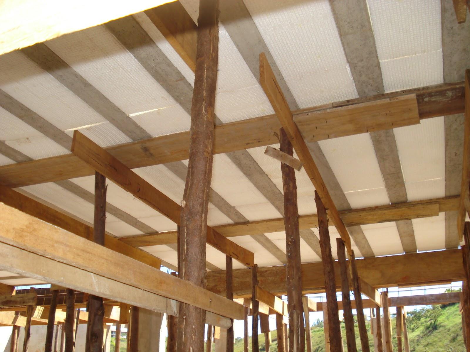 Modo Construção: Dicas importantes que aprendi com a laje da nossa  #6D4423 1600x1200