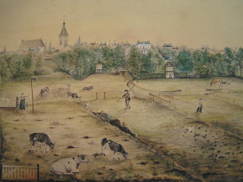 Foto 39 s winschoter erfgoed - Kleur schilderij ingang ...