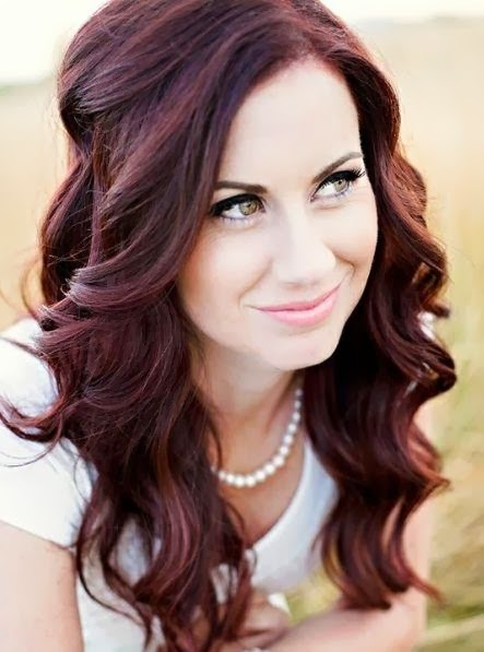 Dark Red Hair Color Ideas For Fair Skin  Dark Brown Hairs