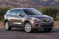 Buick Envision (2016 North American Spec) Front Side