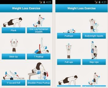 Weight Loss App: Weight Loss Exercises